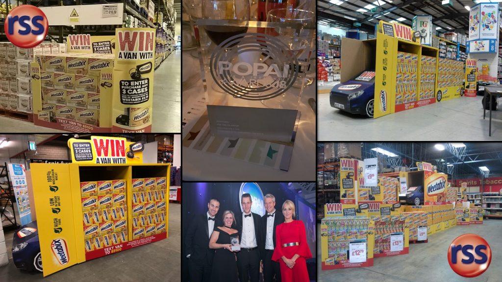 Weetabix Win a Van POPAI award